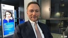 Christian Lindner im DW-Interview