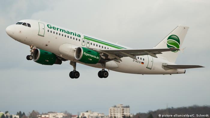 Самолет Germania