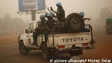 Zentralafrikanische Republik - UN Blauhelme