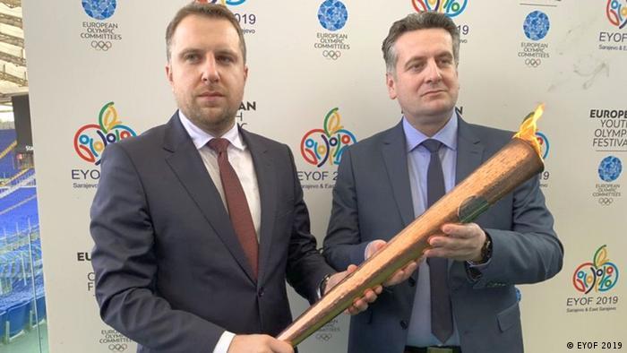 Europäisches Olympisches Jugendfestival EYOF in Sarajewo