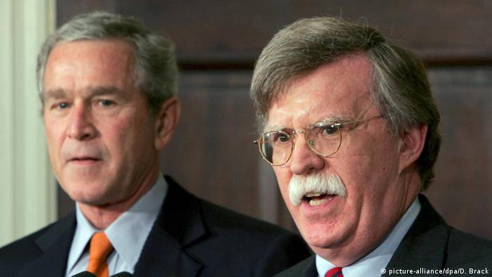 Bush and Bolton