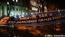 Ukraine Protestaktion in Kiew