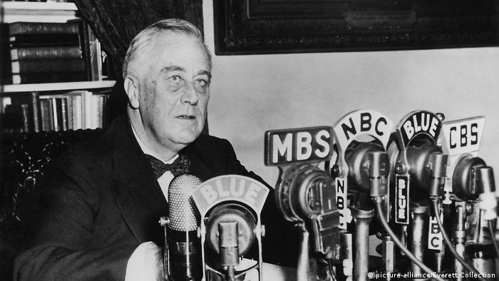 US-Präsident Franklin Roosevelt (picture-alliance/Everett Collection)
