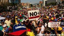 Venezuela Protest gegen Nicolas Maduro