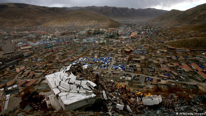 Erdbeben in Yushu, Tibet, 2010 (AFP/Getty Images)