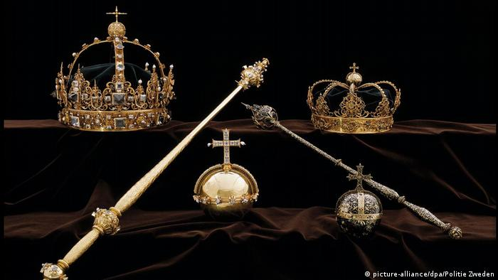 Crown jewels of King Charles IX and Queen Kristina of Sweden