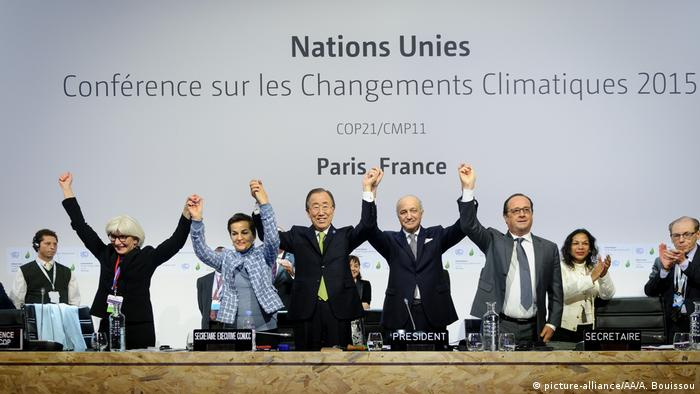 Klimakonferenz Cop21 2015 in Paris