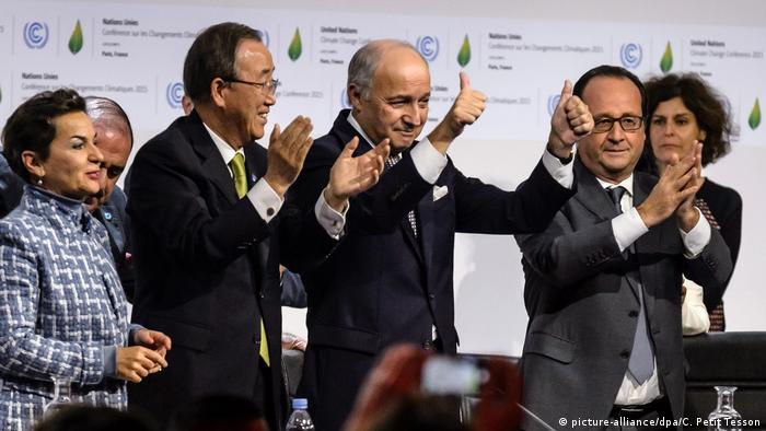 Klimakonferenz Cop21 2015 in Paris (picture-alliance/dpa/C. Petit Tesson)