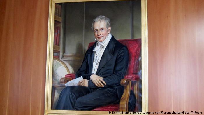Alexander von Humboldt Porträt in der Akademie der Wissenschaften Berlin-Brandenburg