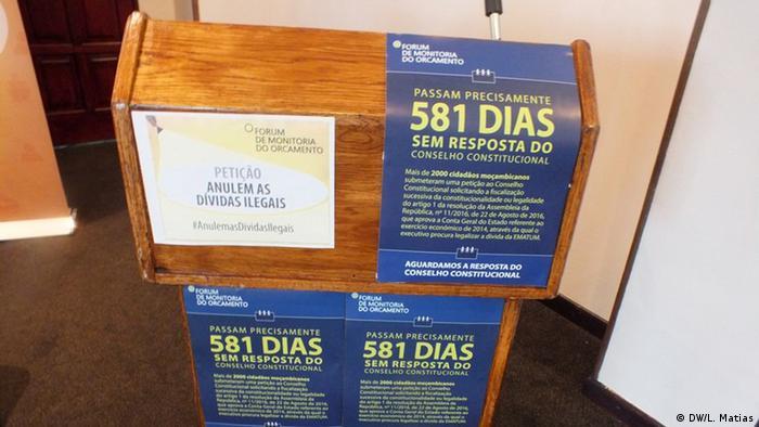 Passados 581 dias, Conselho Constitucional ainda não respondeu à sociedade civil