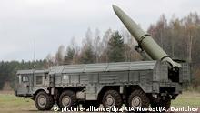 Iskander-Rakete (picture-alliance/dpa/RIA Novosti/A. Danichev)