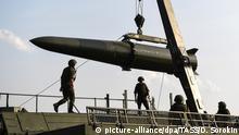 Russische «Iskander»-Rakete