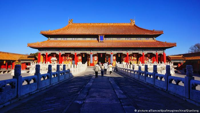 China Forbidden City Peking (picture-alliance/dpa/Imaginechina/Qianlong)