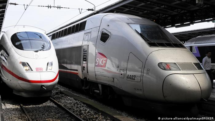 The Franco-German tie up between Alstom and Siemens was blocked by the EU