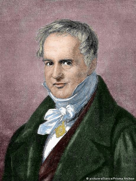 Alexander von Humboldt deutscher Naturforscher (picture-alliance/Prisma Archivo)