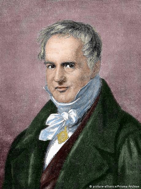 Alexander von Humboldt, German scientist, naturalist and author