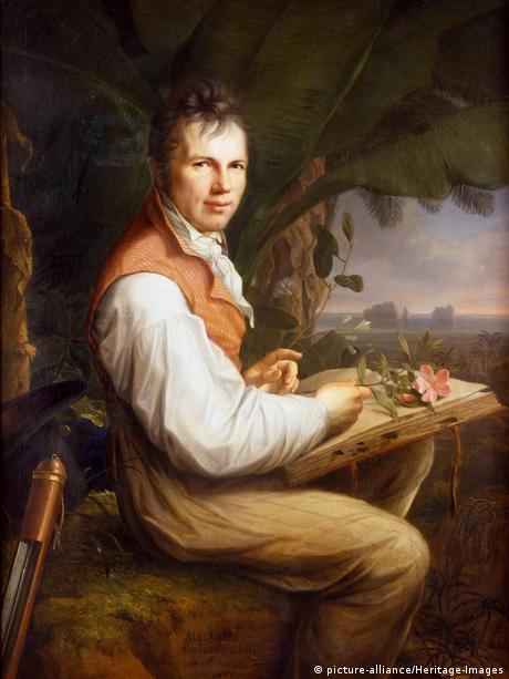 Porträt Alexander von Humboldt