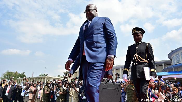 DR Kongo Felix Tshisekedi, Präsident (Getty Images/AFP/T. Karumba)