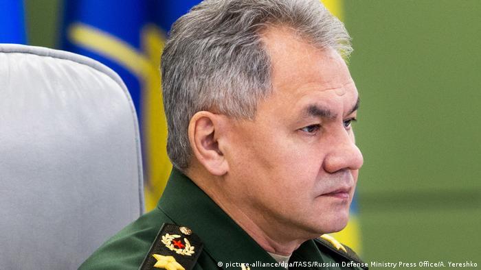 Russland | Verteidigungsminister Sergei Shoigu