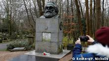 England Vandalismus Grabstätte Karl Marx in London