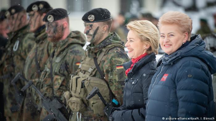 Baltikum Reise Verteidigungsministerin Von der Leyen