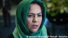 Russland Moskau   Treffen von Politikern aus Afghanistan mit Taliban-Vertretern Fawzia Koofi