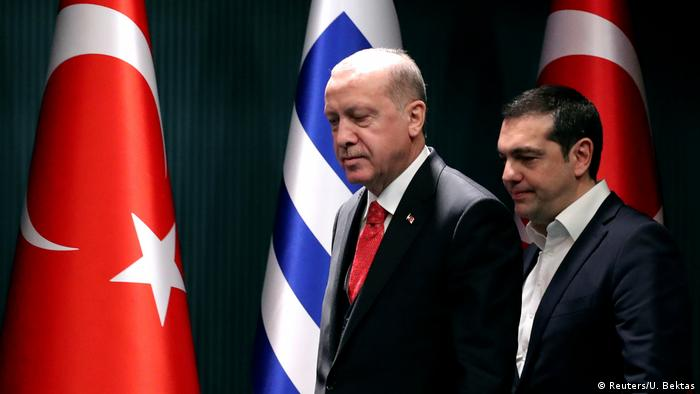 Türkei Treffen Erdogan und Tsipras in Ankara