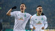 Fussball DFB Pokal | Borussia Dortmund SV Werder Bremen | 0:1