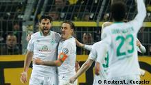 Fussball DFB Pokal   Borussia Dortmund SV Werder Bremen