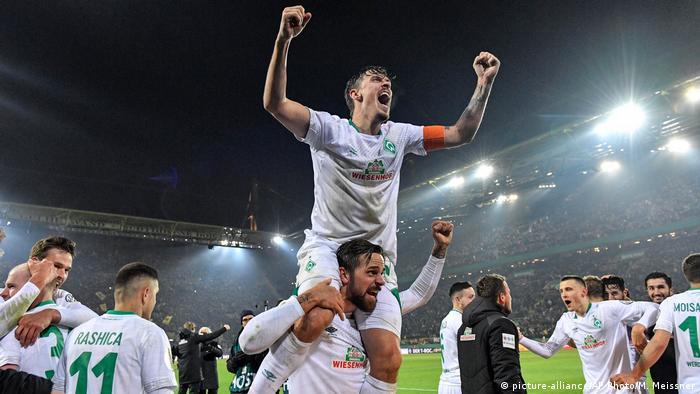 Fussball DFB Pokal | Borussia Dortmund SV Werder Bremen