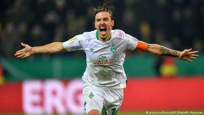 Max Kruse has been in top form for Bremen of late (picture-alliance/AP Photo/M. Meissner)