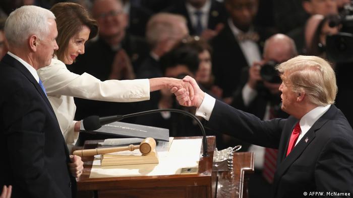 USA Ansprache zur Lage der Union in Washington (AFP/W. McNamee)