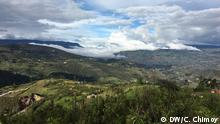 Peru Auf dem Weg nach Hualgayoc (DW/C. Chimoy)