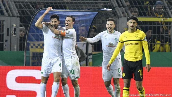 DFB Pokal Borussia Dortmund - Werder Bremen