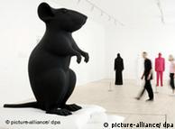 Hombre y ratón, de Katharina Fritsch.