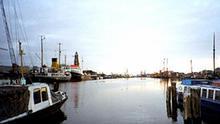Bremerhaven Schiffe im Hafen