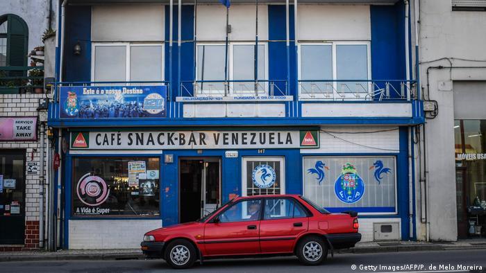 Venezuela Emigranten aus Portugal in Estarreja