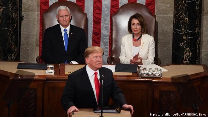 Rede von US-Präsident Trump zur Lage der Nation