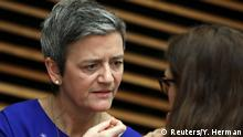 06.02.2019+++ European Competition Commissioner Margrethe Vestager attends the weekly College of Commissioners meeting in Brussels, Belgium, Februray 6, 2019. REUTERS/Yves Herman