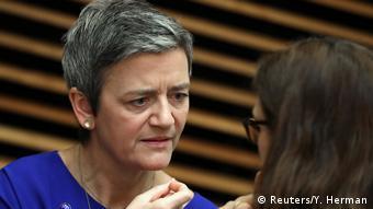 EU-Kommission untersagt Bahnfusion von Siemens und Alstom - Margrethe Vestager (Reuters/Y. Herman)