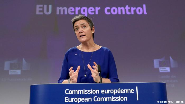 Competition Commissioner Margrethe Vestager has come under fire for the decision to block the Siemens-Alstom rail merger