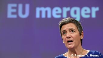Η αντιπρόεδρος της Κομισιόν Μαργκρέτε Βεστάγκερ