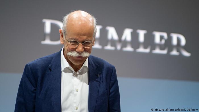 Daimler mit drastischem Gewinneinbruch