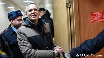 Jehovah's Witnesses adherent Dennis Christensen, a Dane, was jailed in May in Oryol, Russia (AFP/M. Antonov)
