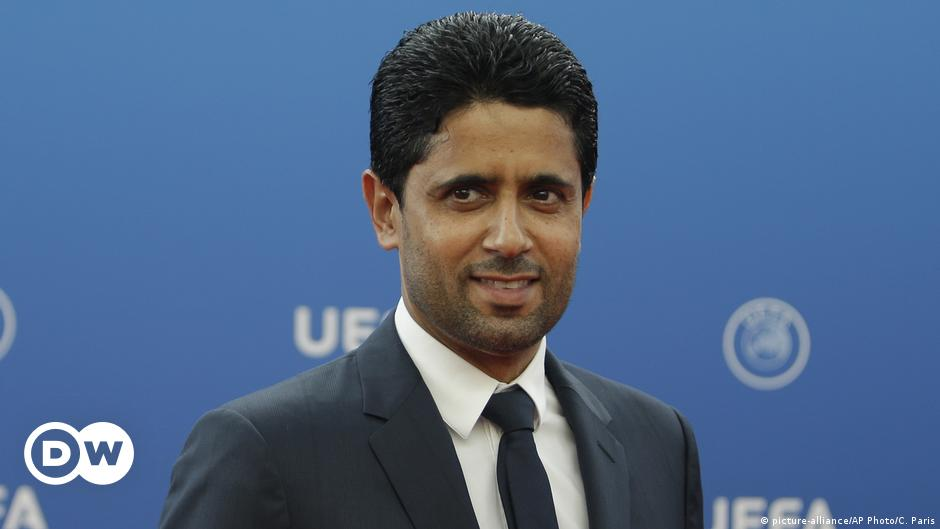 Qatari PSG boss Nasser Al-Khelaifi elected to UEFA Executive Committee with  DFB support | Sports | German football and major international sports news  | DW | 07.02.2019