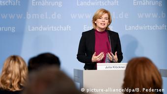 Ministrica prehrane i poljoprivrede, Julia Klöckner