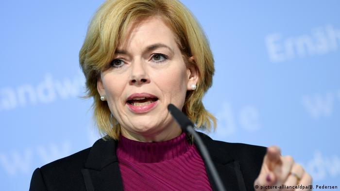 Julia Klöckner, ministra alemã da Agricultura