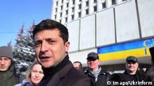 Ukraine Präsidentschaftskandidat Volodymyr Zelenskyi