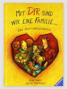 Детская книга Мы с тобой семья. История усыновления