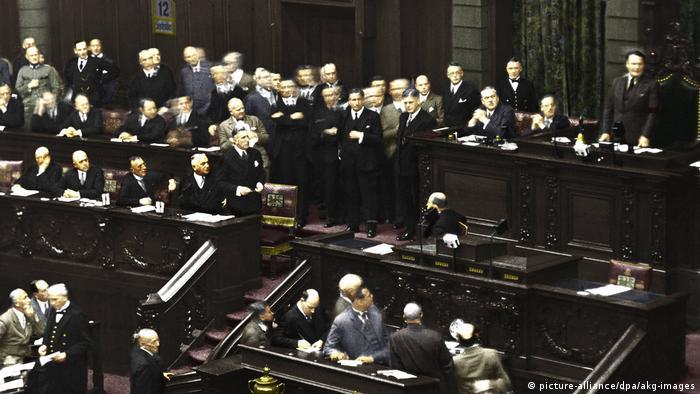 Deutschland   Auflösung des Reichstages 12.9.1932